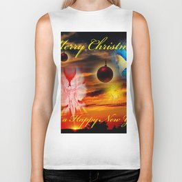 Merry Christmas and a Happy New Year Biker Tank
