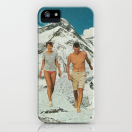 Walking on iPhone Case