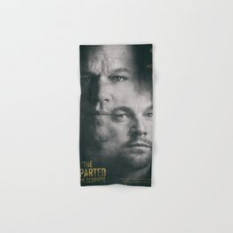 The Departed, Martin Scorsese movie poster, Leonardo DiCaprio, Matt Damon, american mafia film Hand & Bath Towel