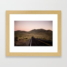 California Landscape I Framed Art Print