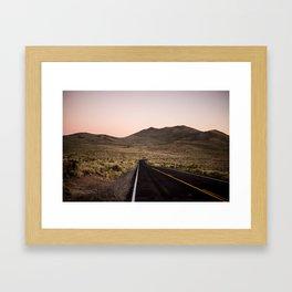 California Landscape I Framed Art Print