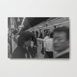 sfumato Metal Print