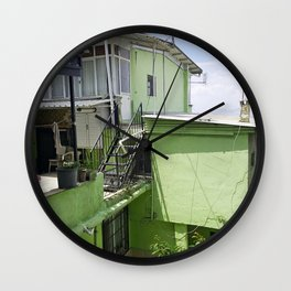 House in Izmir Wall Clock