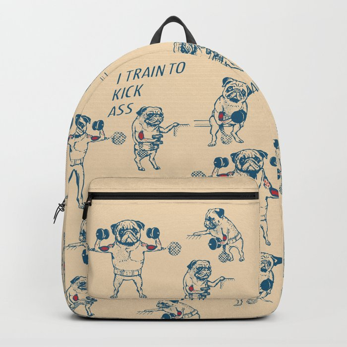 Pug Workout Backpack