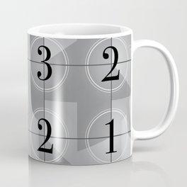 321 Cinema // Old Film Countdown Coffee Mug