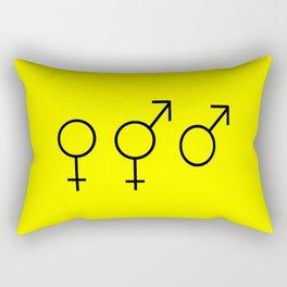 Symbol of Transgender 61 Rectangular Pillow