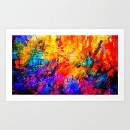 Colorful Mind Art Print