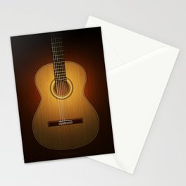 Classic Guitar Stationery Cards