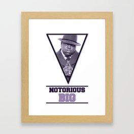 *Notorious BiG* Framed Art Print