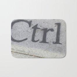 Ctrl Bath Mat