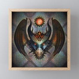 The Dragon Framed Mini Art Print