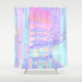 Kyoto Bubblegum Shower Curtain