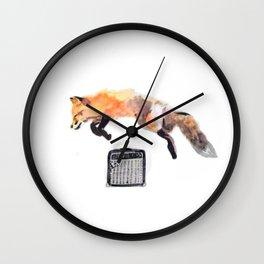 Fox Trot Blues Wall Clock