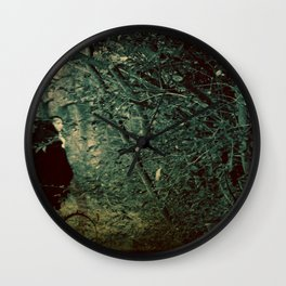 Into the Enchanted Forest Wall Clock