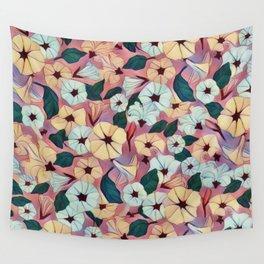Pretty Petunias Wall Tapestry