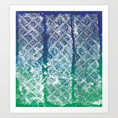 Knitwork II Art Print