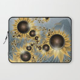 Sunflower morning Laptop Sleeve