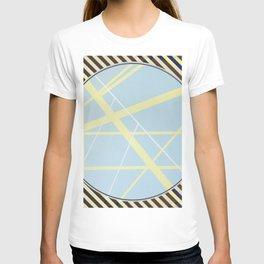 crossroads ll - diagonal line T-shirt