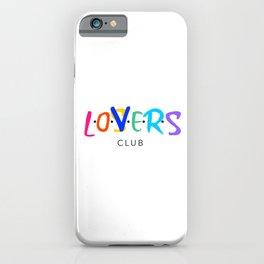LOSER CLUB iPhone Case
