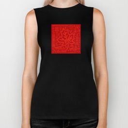 Canadiana Icons - Maple Leaf Biker Tank