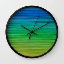 SEA BLUES Wall Clock