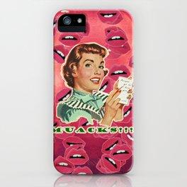 Muacks iPhone Case