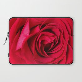 Red Rose Close-up #decor #society6 #buyart Laptop Sleeve