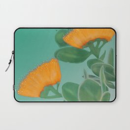 Hawaii Yellow Lehua Blossom Laptop Sleeve