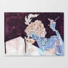 CHAMPAGNE FEMME Canvas Print