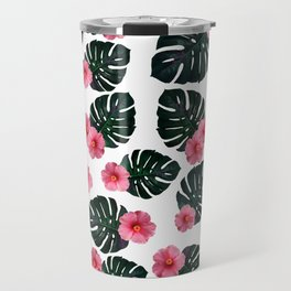 Tropical pattern n.1 Travel Mug