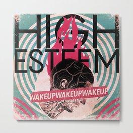 The Wake-Up Bomb Metal Print