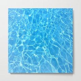 Pool Pool Pool Metal Print