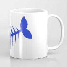Pirate Bad Fish blue- pezcado Coffee Mug