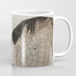 Edge of raku ceramic vase - Perfect imperfection! Coffee Mug