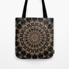 Mandala grey elegance Tote Bag