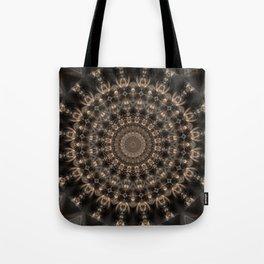 Mandala grey elegance Tote Bag