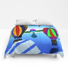 Hot Air Balloons Comforters