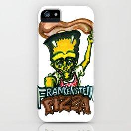 Frankenstein Pizza iPhone Case