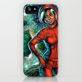 The Astronaut iPhone Case