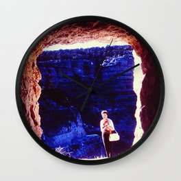 Cave Frame Wall Clock