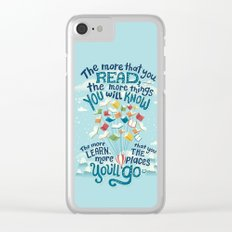 Go places Clear iPhone Case