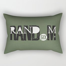 RAND(6IX)M Rectangular Pillow