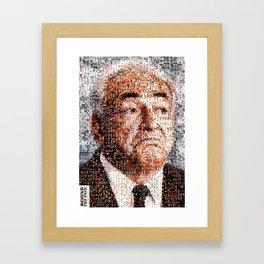 BEHIND THE FACE Dominique Strauss-Kahn | sexy girls Framed Art Print