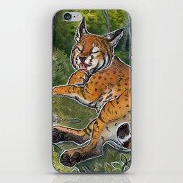 Bobcat iPhone Skin