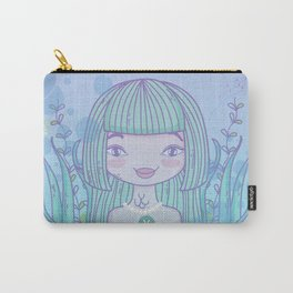 Pisces Girl Carry-All Pouch