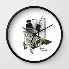 Suicidal Paint Wall Clock