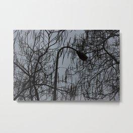 La lluvia. Metal Print