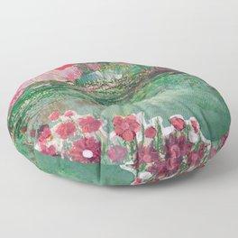 lovely landscape 3  Floor Pillow