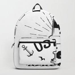Ostsee Spruch Liebe Meer Backpack