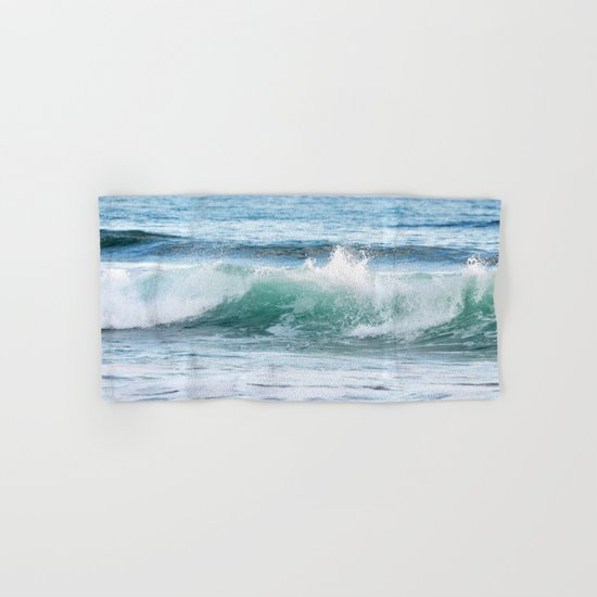 OCEAN WAVE Hand & Bath Towel